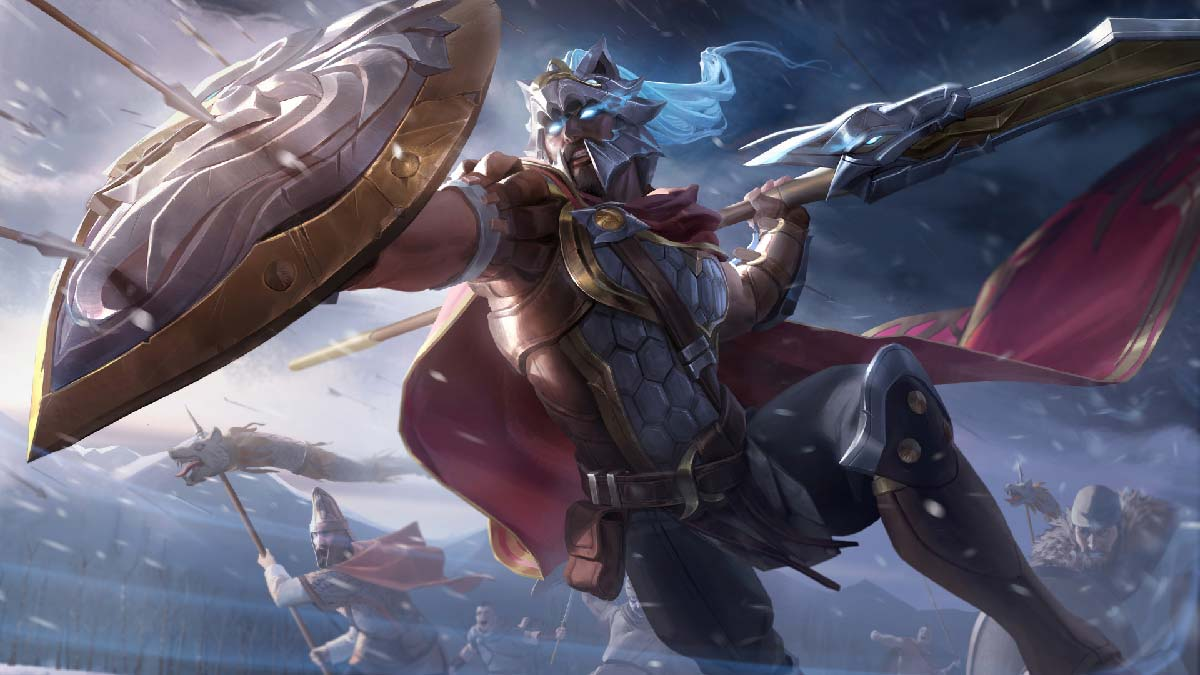 Glaive Warrior Pantheon Wallpaper LOL