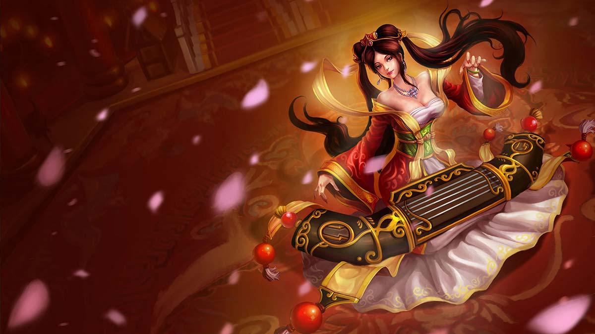 Guqin Sona Wallpaper LOL