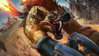 Hyena Warwick Wallpaper LOL