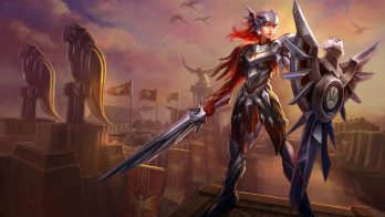 Iron Solari Leona Wallpaper LOL