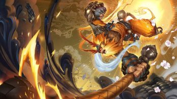 Radiant Wukong Wallpaper LOL