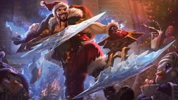 Santa Draven Wallpaper LOL