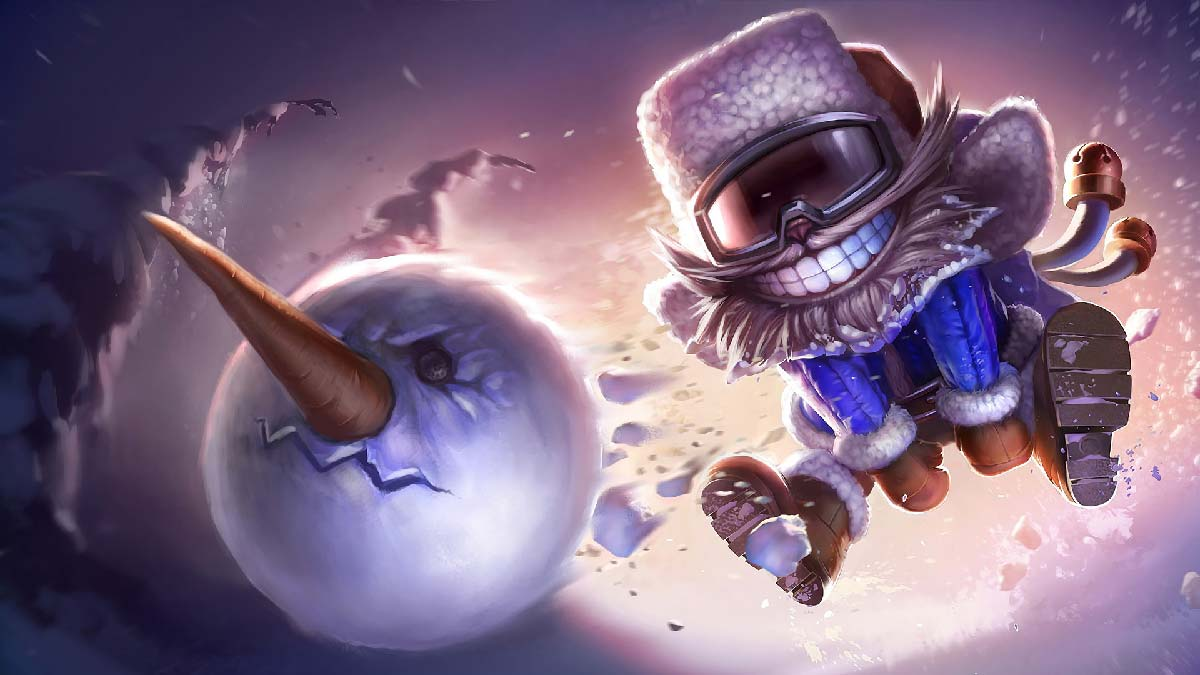 Snow Day Ziggs Wallpaper LOL