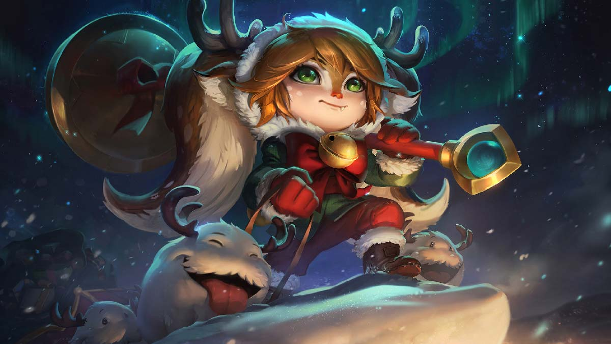 Snow Fawn Poppy Wallpaper LOL