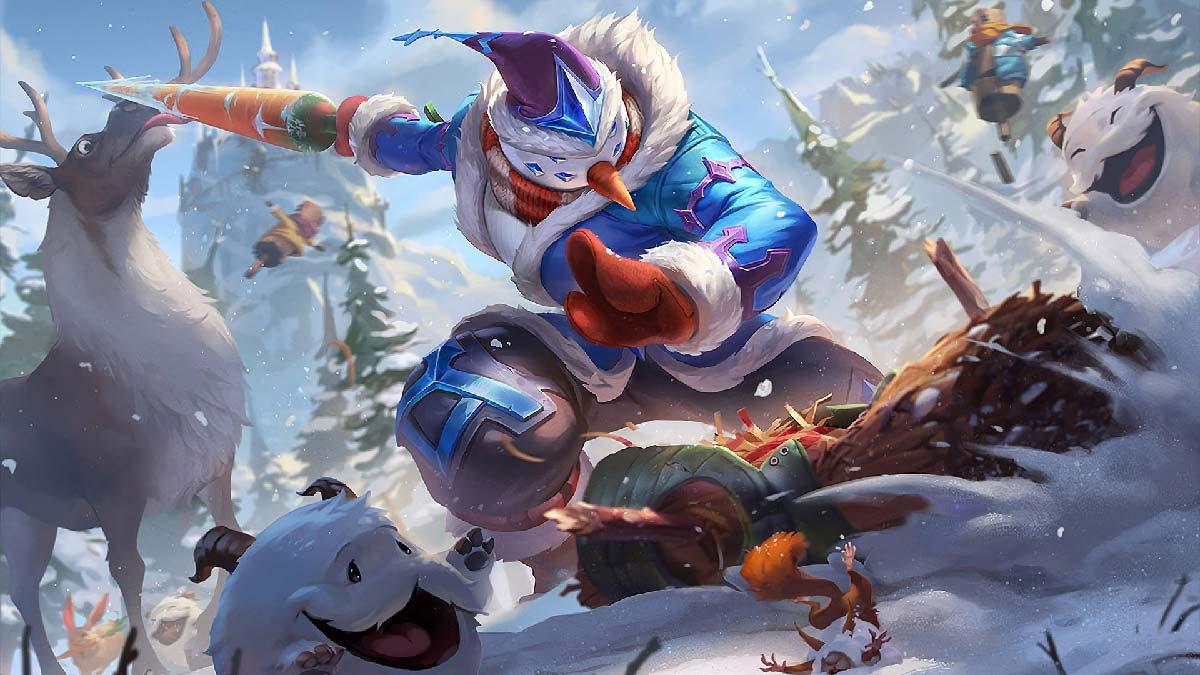 Snow Man Yi Wallpaper LOL