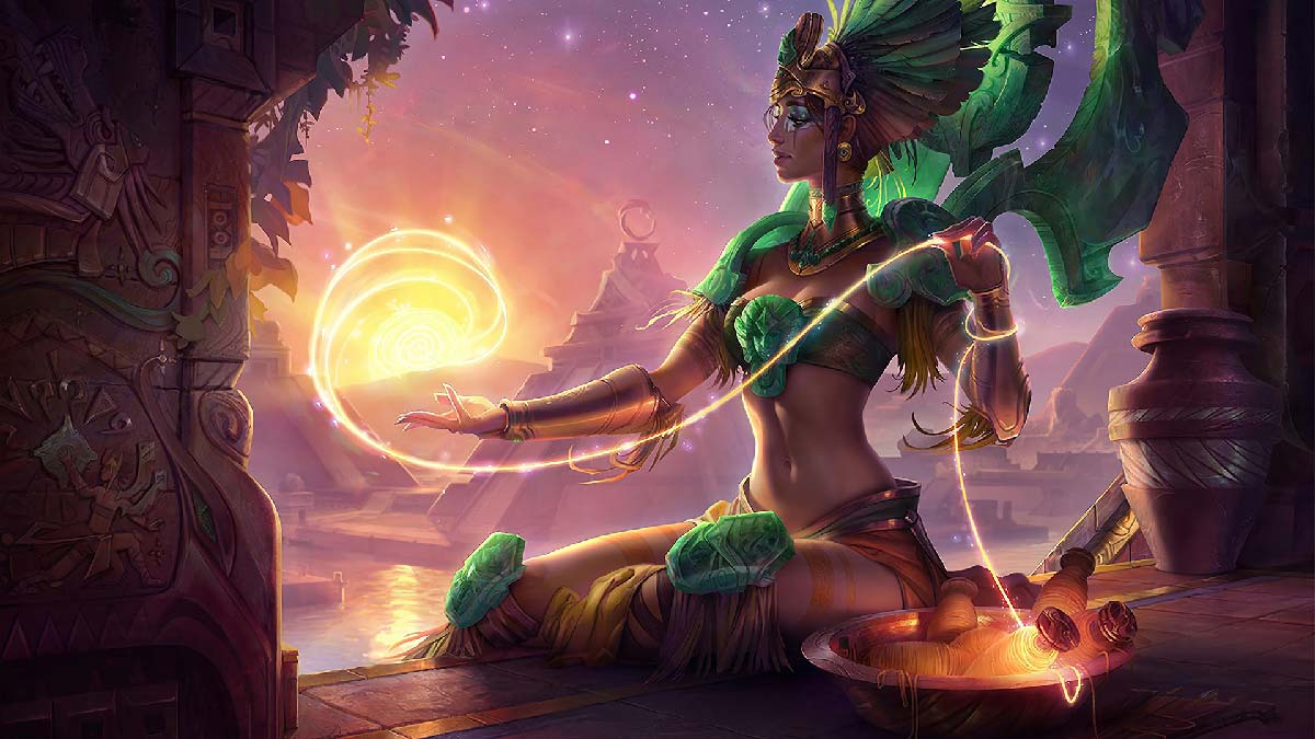 Sun Goddess Karma Wallpaper LOL