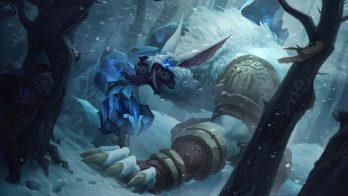 Tundra Hunter Warwick Wallpaper LOL