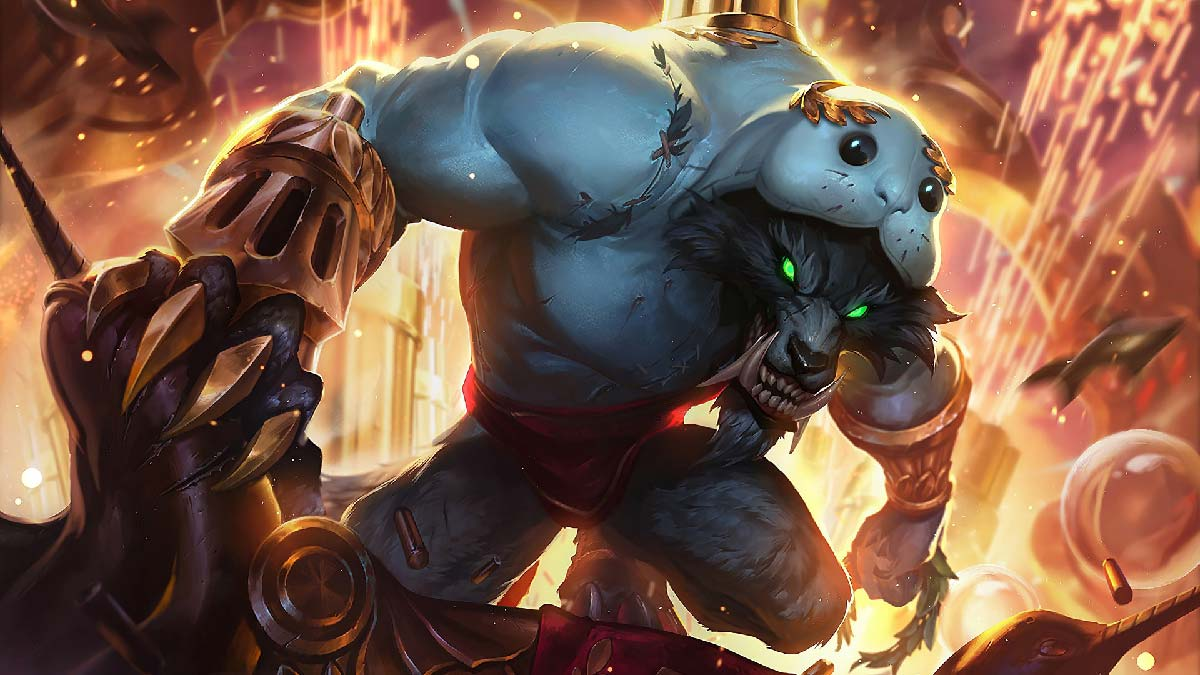 Urf the Manatee Warwick Wallpaper LOL