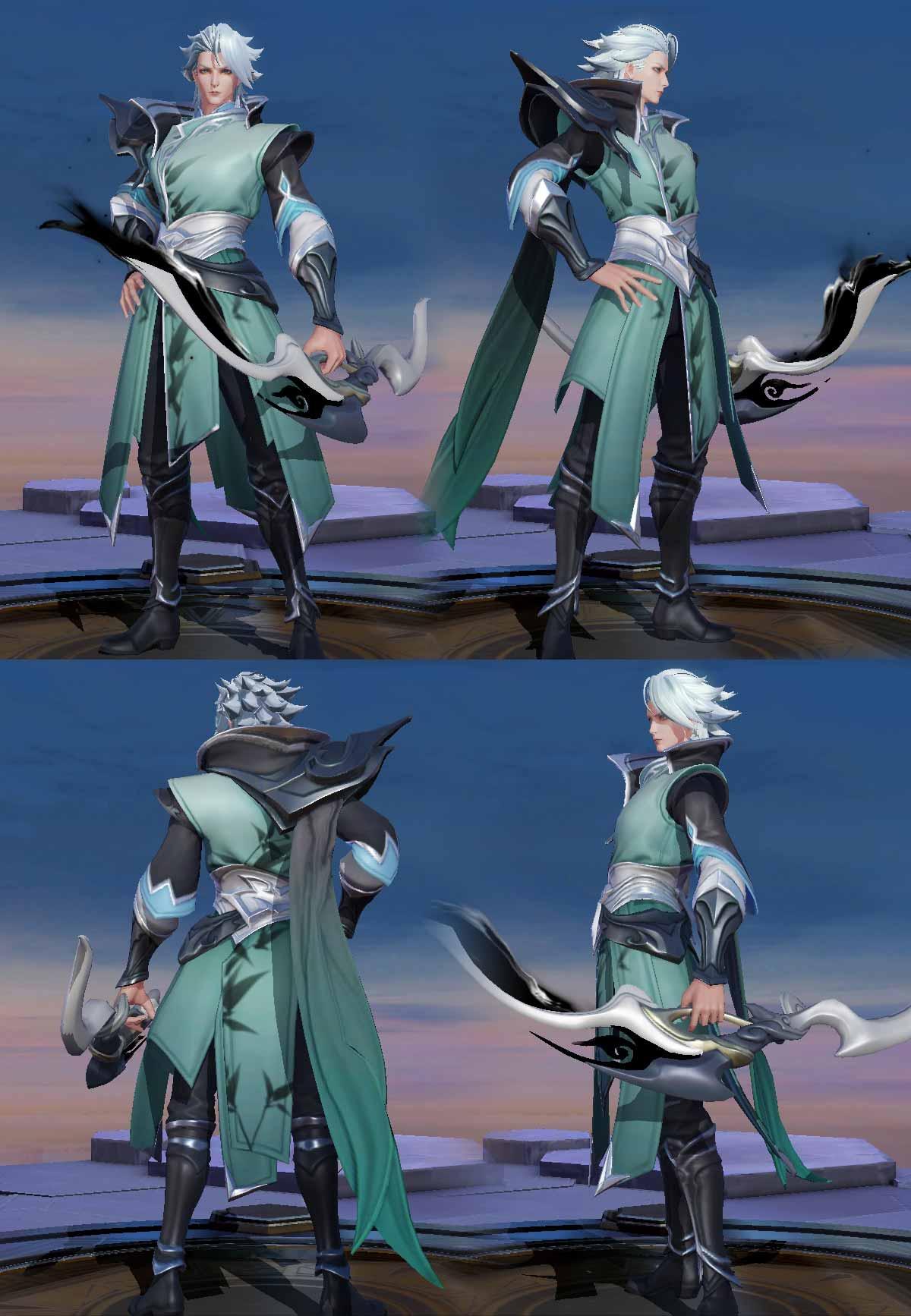 Hình ảnh về trang phục Yorn Phá Vân Tiễn